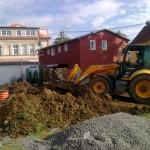 112.Rozkopání terasy