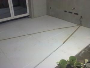 Obývák podlaha