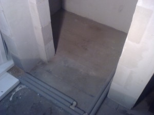 Polystyren na záchodě