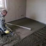 127.Betonování podlahy II.část