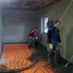 128.Betonování podlahy III.část