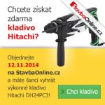 Získejte výkonné vrtací kladivo Hitachi ZDARMA!