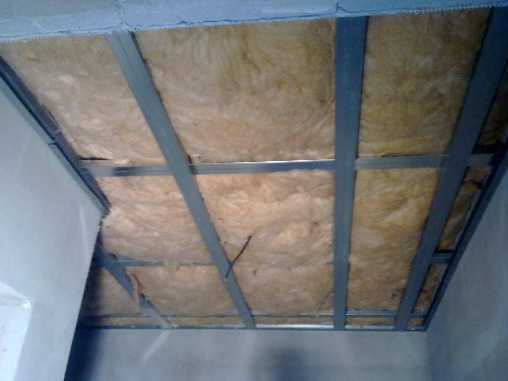 strop předsíň