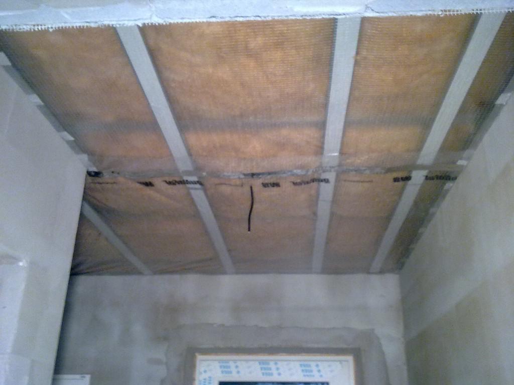 parofolie strop předsíň