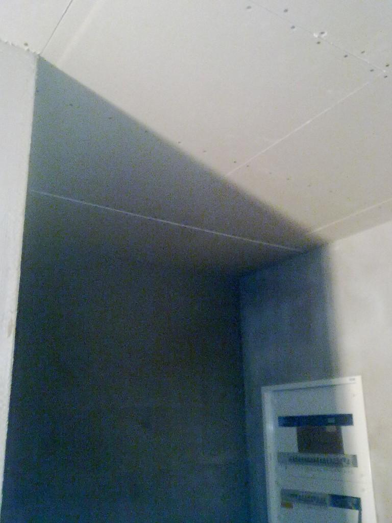 sádrokarton strop předsíň