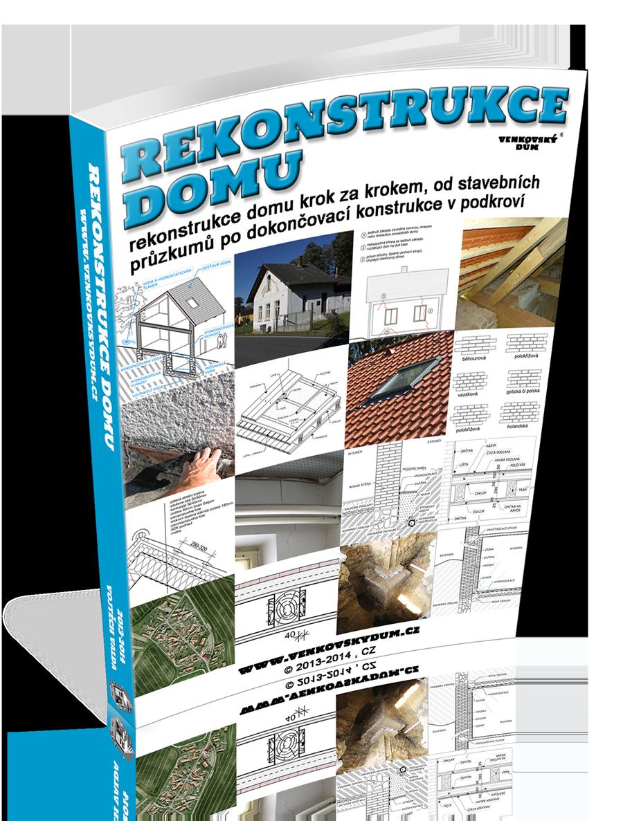 kniha rekonstrukce domu
