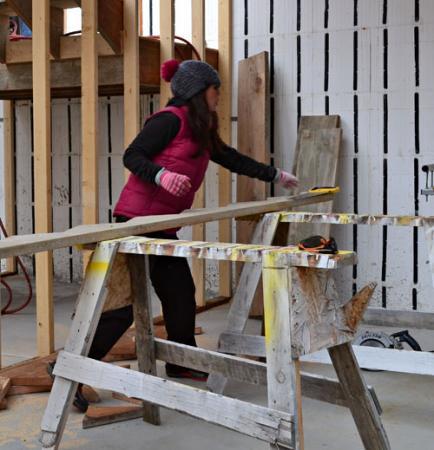 Stavebnice dřevěného domu