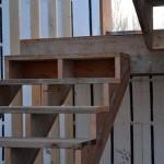 Návod na stavbu dřevěného schodiště