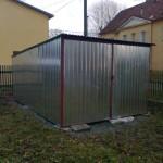 1.Pořízení stavební boudy