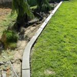Jak si vyrobit obrubu trávníku