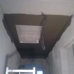 147.Natahování lepidla na strop – II.část