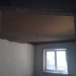 149.Natahování lepidla na strop – III.část