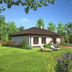 Rodinný dům – bungalov Notos 20