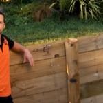 Video: Jak postavit dřevěnou opěrnou zeď – 2.část
