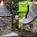 Vyrobte si domeček pro zahradní vílu