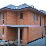 Video: Dům z cihlových panelů.