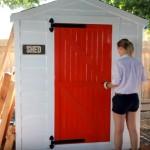 Video: Jak vyrobit u kůlny dveře