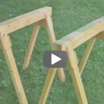 Video: Jak si vyrobit stavební kozy