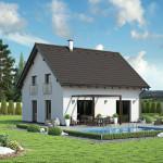 Nízkoenergetický (pasivní) rodinný dům Beryl
