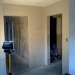 160.Štukování dalších stěn a místností.