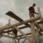 Video: Tesařský kurz stavby tradičního francouzského domu