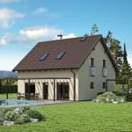 Nízkoenergetický (pasivní) rodinný dům Lithia