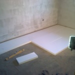 121.Pokládka podlahového polystyrenu – I.část