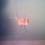 150.Natahování lepidla na strop – IV.část