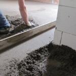 Betonové podlahy strojně hlazené