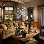 Tradiční a přesto velmi luxusní interiéry