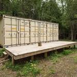 Víkendový domeček z kontejnerů