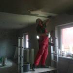 157.Strop v obýváku a kuchyni