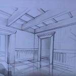 Video: Jak nakreslit místnost v perspektivě