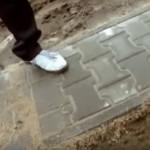 Jak si jednoduše vyrobit chodník